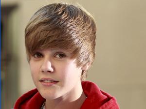 O cantor Justin Bieber, do hit 'Baby'