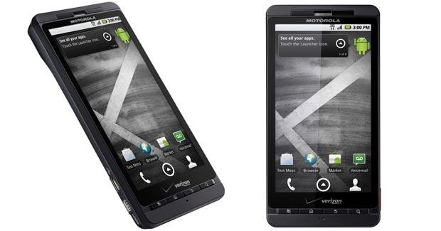 Motorola lança novo smartphone Android para concorrer com iPhone Droidx_620x325