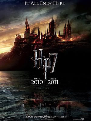 Pôster de 'Harry Potter e as relíquias da morte'
