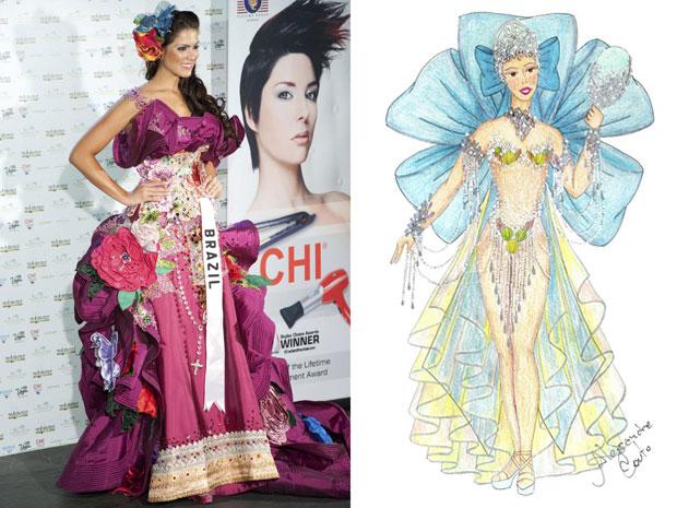37aeef5a40e2 G1 - Problema em fantasia faz Miss Brasil usar traje antigo no Miss ...