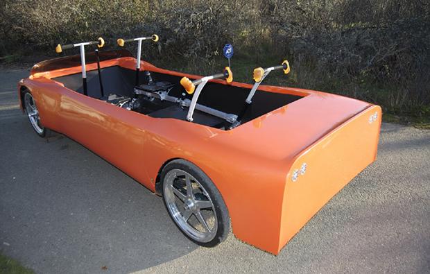 8ce1872b311 Auto Esporte - Cientista norte-americano cria carro movido a energia ...