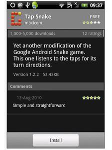 tap-snake Game para celular Android esconde sistema que espiona usuário