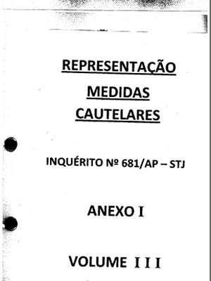 Inquerito 681 / AP-STJ