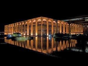 Palácio do Itamaraty, onde será a recepção a Dilma após a diplomação