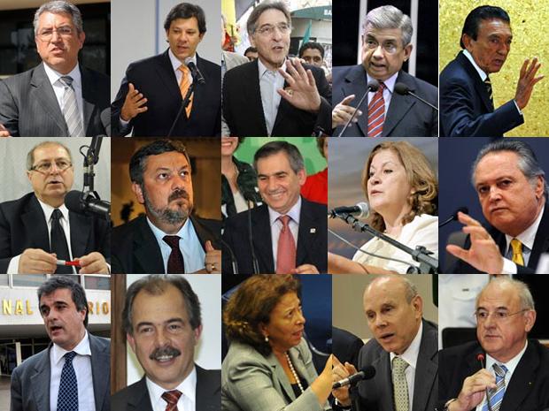 Ministros do PT e PMDB ocupam pastas estratégicas