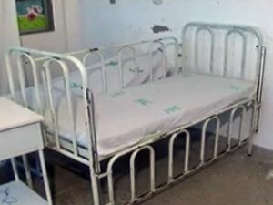 Berço de onde criança teria caído em hospital de Feira de Santana