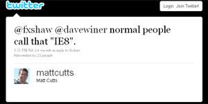 Matt Cutts, engenheiro do Google, briga com Shaw, da Microsoft (Foto: Reprodução)