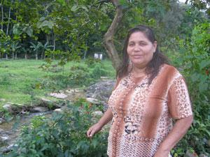 Néia, presidente da Associação de Praiados, é uma das criadoras de evento em Maricá (Foto: Aluizio Freire)