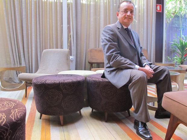 971b2729c Milton Cardoso, presidente da Abicalçados (Foto: Darlan Alvarenga/G1)