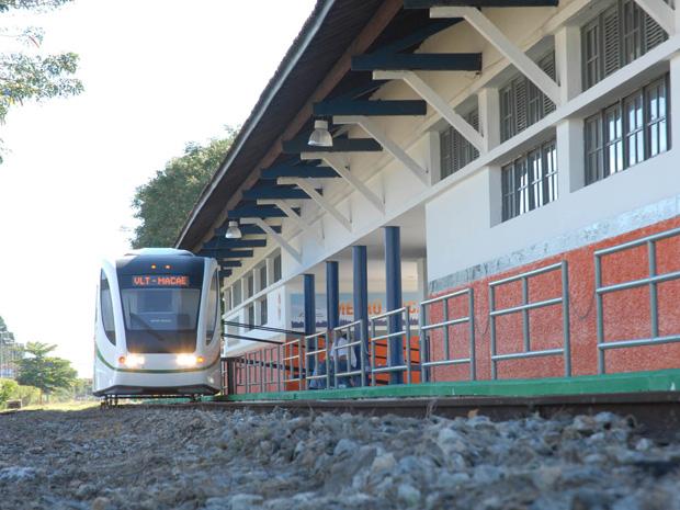 G1 - Macaé recebe R  47 milhões do governo federal para VLT do RJ ... 57be78ab03