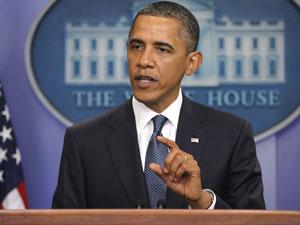 Barack Obama, em pronunciamento (Foto: Reuters)