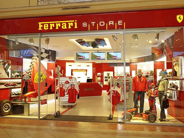 ff8fbeb918 Auto Esporte - Brasil terá boutique oficial da Ferrari