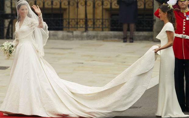 b5f2e9b36b G1 - Loja vai vender cópia do vestido de madrinha de Pippa Middleton ...