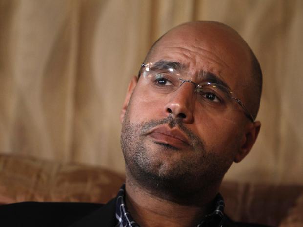 Saif Al-Islam, filho de Muammar Kadhafi, foi capturado neste domingo (21) por tropas rebeldes em Trípoli. A informação foi confirmada pelo líder da oposição líbia (Foto: Chris Helgren/Reuters)