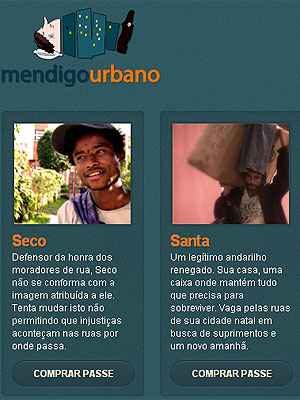 c37378ee0  Mendigo Urbano  vende doações para moradores de rua (Foto  Reprodução)