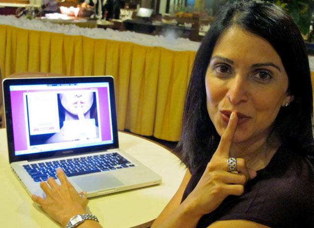 Jas Kaur, diretora do Ashley Madison Brasil, com 107 mil inscritos (Foto: Darlan Alvarenga/G1)