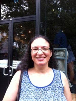 Angela Barbosa Em Visita Ao Wtc Foto Cristina Indio Do
