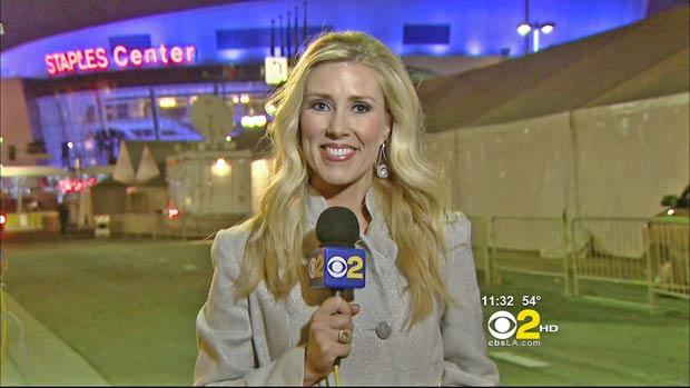 Em fevereiro de 2011, a repórter americana Serene Branson, da emissora de TV 'KCBS', teve uma pane quando apresentava ao vivo uma notícia do 'Grammy', em Los Angeles (EUA). A jornalista começou a falar coisas incompreensíveis.  Foto: AP