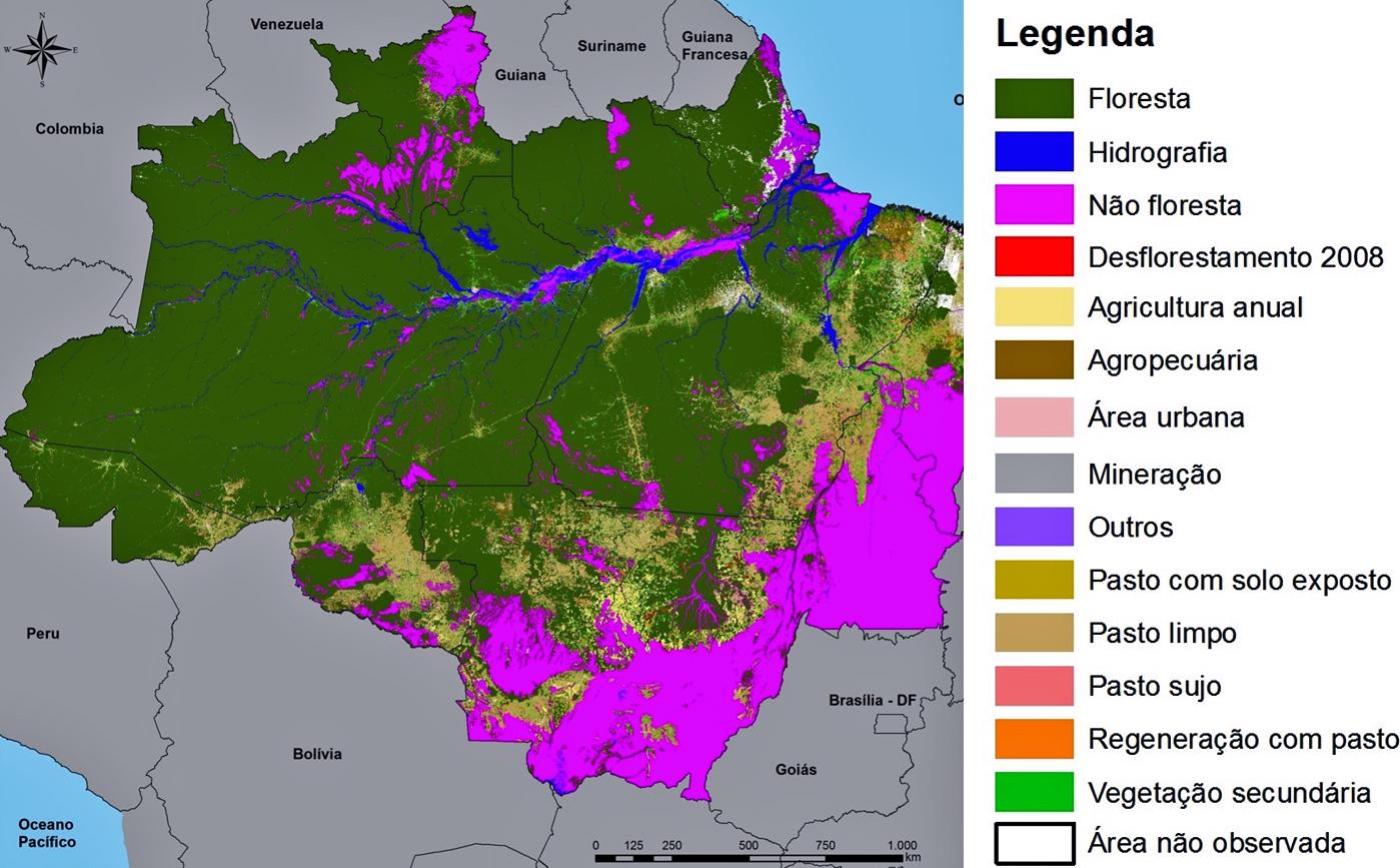 Inpe E Embrapa Revelam A Ocupação Das áreas Desmatadas Da