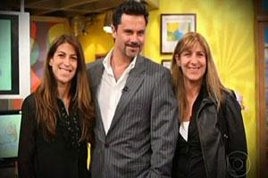 apresentador chileno (Foto: Reprodução / TV Globo)