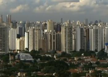 Imóveis na capital paulista (Foto: Reprodução/TV Globo)