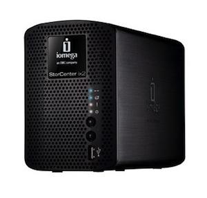 caabd100c6889 O Storage Storcenter Ix2 200 Network é uma das soluções da Iomega para  servidores de NAS