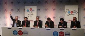 Executivos das três empresas afirmam que não se trata de uma fusão, apenas uma união comercial (Foto: Gustavo Petró/G1)