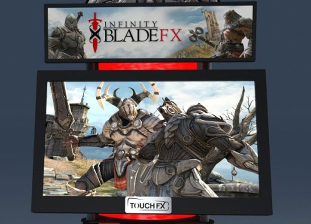 y01sh85x Game de iPhone 'Infinity Blade' ganha versão para os fliperamas