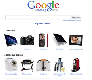 c473cdca3ad Site Google Shopping permite fazer pesquisas sobre produtos (Foto   Reprodução)