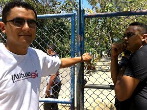 Márcio (esq.) e Cláudio perderam a prova por causa de 4 minutos. (Foto: Giselle Dutra/G1)