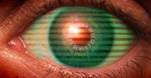 Ilustração mostra como seria lente com projeção holográfica (Foto  BBC) aa56079bb1