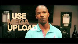 Trecho do vídeo institucional do Megaupload (Foto: Reprodução)