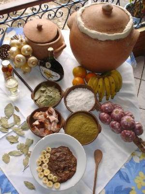 Barreado e os ingredientes (Foto: Divulgação)