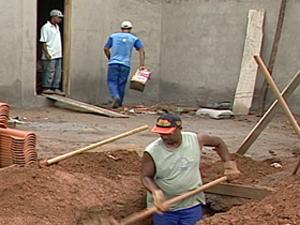 Construção Civil deve reaquecer no segundo semestre (Foto: Reprodução / Tv Integração)