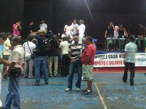 PMs encerram greve na Bahia (Foto: Ida Sandes/G1)