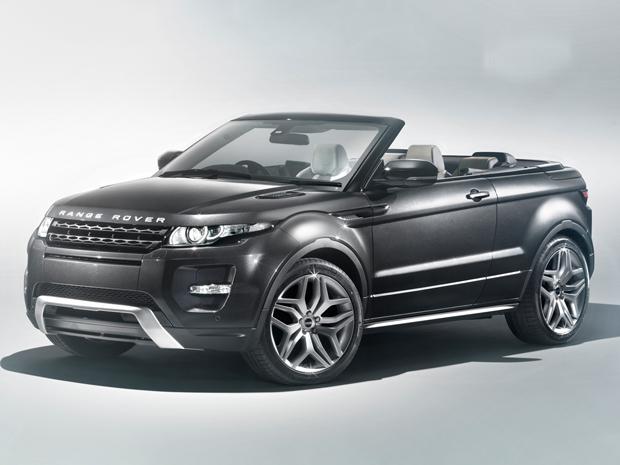 Land Rover mistura estilos e mostra Evoque conversível