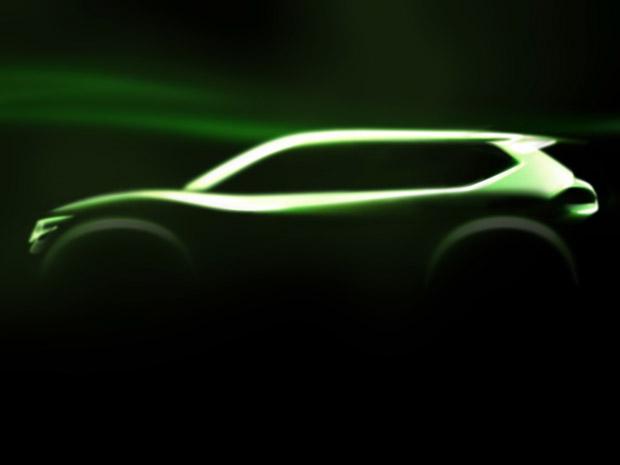 Nissan divulga primeira imagem do crossover Hi-Cross Concept