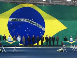 Militares são homenageados no Rio (Foto: Janaína Carvalho/G1)