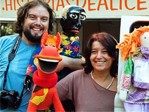 Casal em Kombi percorre o Brasil (Foto: Franco Hoff/Arquivo pessoal)