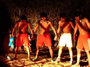 índios de Mato Grosso (Foto: Franco Hoff/Arquivo pessoal)
