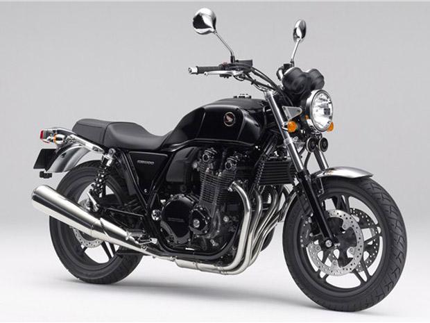 Honda lança versão Black Style na linha 2012 da CB1100F no Japão