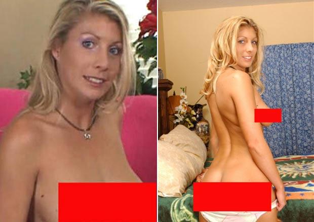 Stacie Halas, de 31 anos, foi afastada pela escola Richard B. Haydock, em Oxnard, no estado da Califórnia (EUA), após um vídeo pornô circular entre os alunos. (Foto: Reprodução)