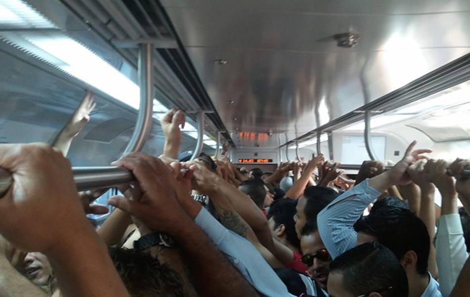 Leitores registram transtornos após falhas em trens do Metrô e da ...
