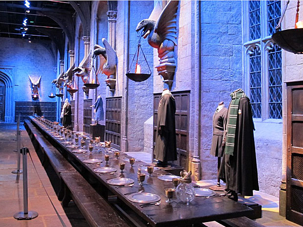 G1 - G1 visitou estúdio onde foi filmada a saga 'Harry Potter'; saiba como é - notícias em Pop