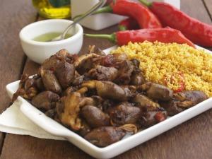 5f5e725c10f Coração de frango com farofa de pimenta concorre ao melhor prato de Manaus  (Foto