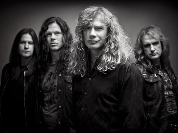 Quarteto de thrash metal Megadeth (Foto: Divulgação)