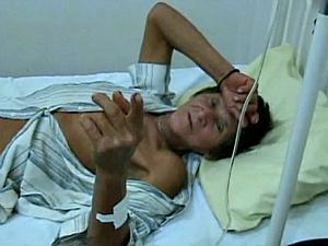 O amigo foi encontrado e hospitalizado (Foto: Reprodução/TVAM)