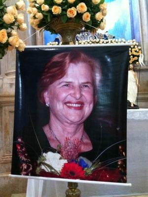 Fundadora da Pastoral da Criança Zilda Arns foi homenageada (Foto: Girlene Medeiros/G1 AM)