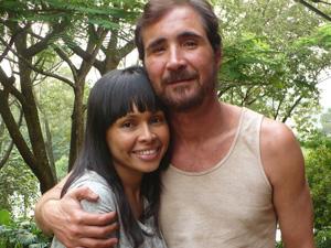 Adana Kambeba e João Miguel (Foto: Arquivo Pessoal)