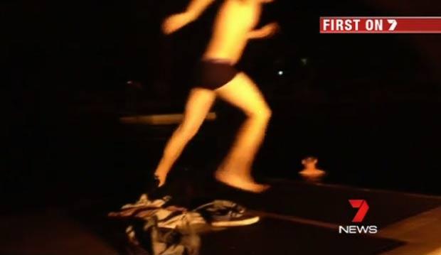 Caso ocorreu em parque aquático em Gold Coast, na Austrália. (Foto: Reprodução/7 News)